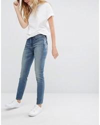 blaue Boyfriend Jeans von Blank NYC