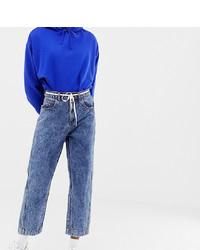 blaue Boyfriend Jeans von Collusion