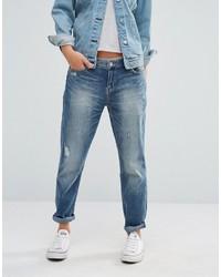 Blaue Boyfriend Jeans von Dittos