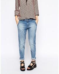 blaue Boyfriend Jeans von Esprit