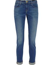 blaue Boyfriend Jeans von Frame