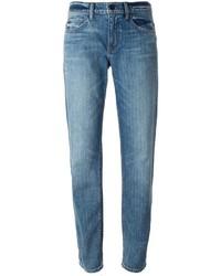 blaue Boyfriend Jeans von Helmut Lang