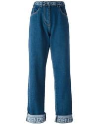 blaue Boyfriend Jeans von Kenzo