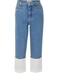 blaue Boyfriend Jeans von Loewe