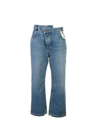blaue Boyfriend Jeans von Monse