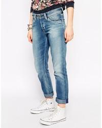 blaue Boyfriend Jeans von Pepe Jeans