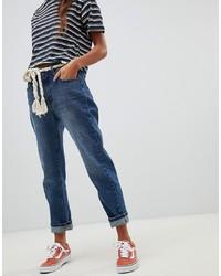 blaue Boyfriend Jeans von Pull&Bear