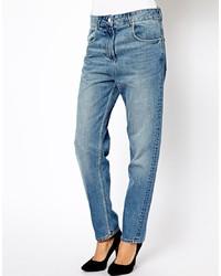 blaue Boyfriend Jeans von Religion
