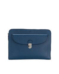 blaue Clutch Handtasche von Tod's