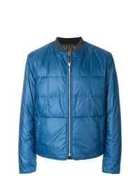 blaue Daunenjacke von Maison Margiela