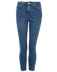 blaue enge Jeans