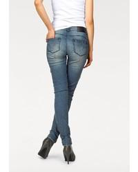 blaue enge Jeans von Arizona