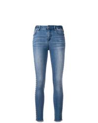 blaue enge Jeans von Armani Exchange