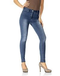 blaue enge Jeans von ASHLEY BROOKE by Heine