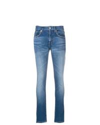 blaue enge Jeans von Balenciaga