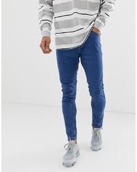 blaue enge Jeans von Bershka