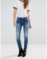 blaue enge Jeans von Blank NYC