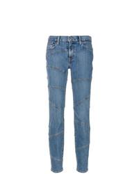 blaue enge Jeans von Burberry