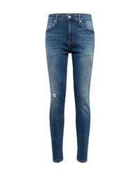 blaue enge Jeans von Calvin Klein
