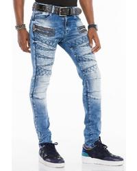 blaue enge Jeans von Cipo & Baxx