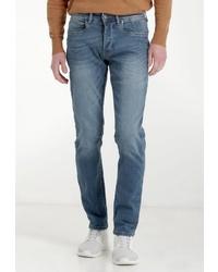blaue enge Jeans von Crosshatch