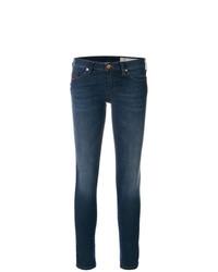 blaue enge Jeans von Diesel