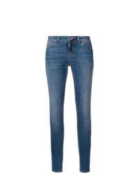 blaue enge Jeans von Dolce & Gabbana