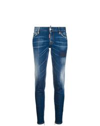 blaue enge Jeans von Dsquared2