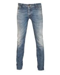 blaue enge Jeans von DUCK & APE