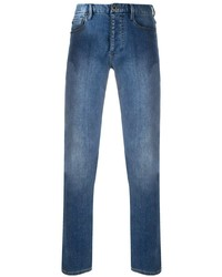 blaue enge Jeans von Emporio Armani
