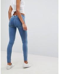 blaue enge Jeans von Freddy