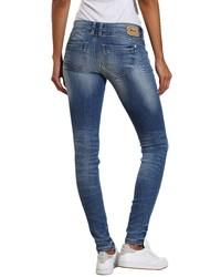 blaue enge Jeans von Gang