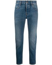 blaue enge Jeans von Gucci