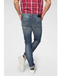 blaue enge Jeans von Jack & Jones