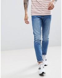 blaue enge Jeans von LDN DNM