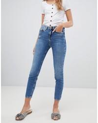 blaue enge Jeans von New Look