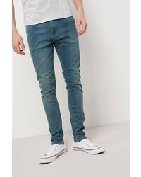 blaue enge Jeans von next