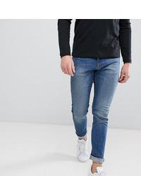 blaue enge Jeans von Noak