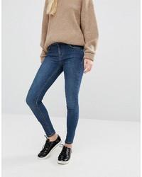blaue enge Jeans von Oasis