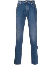 blaue enge Jeans von Off-White