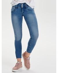blaue enge Jeans von Only