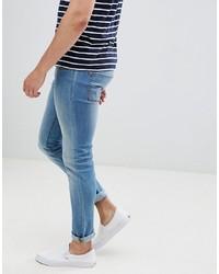 blaue enge Jeans von Produkt