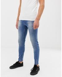 blaue enge Jeans von Religion
