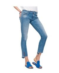 blaue enge Jeans von Replay