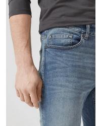 blaue enge Jeans von S.OLIVER RED LABEL