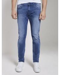blaue enge Jeans von Tom Tailor