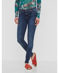 blaue enge Jeans von Vero Moda