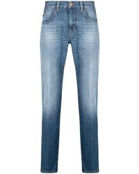 blaue enge Jeans von Z Zegna