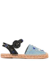 blaue Espadrilles von Dolce & Gabbana