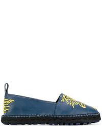 blaue Espadrilles von Kenzo